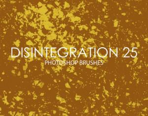 Free Disintegration Photoshop Brushes 25 Photoshop brush