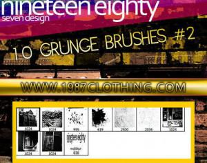 Grunge Set 2 Photoshop brush