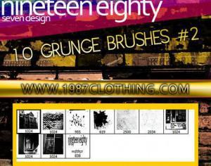 Grunge Set 2 Photoshop brush