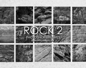 Free Rock Photoshop Brushes 2 Photoshop brush