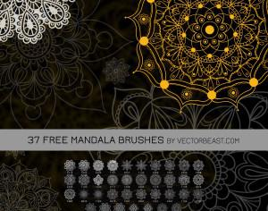37 Free Mandala Brushes Photoshop brush