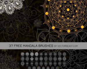37 Free Mandala Brushes Photoshop brush