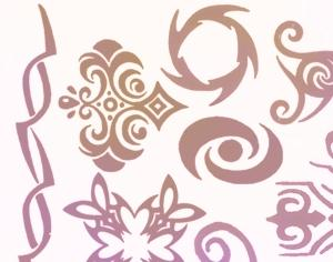 Henna Tattoo Brushes Photoshop brush