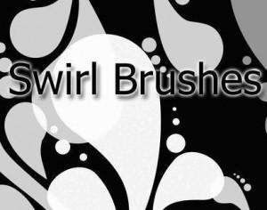 Swirl Brush Pack Photoshop brush