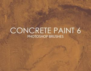 Free Concrete Paint Photoshop Brushes 6 Photoshop brush