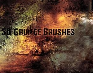 Grunge Brushes Photoshop brush