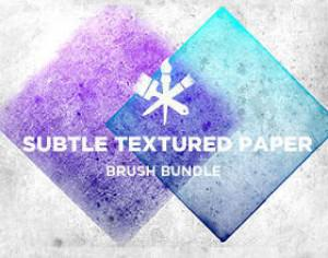 Subtle Paper Textures Photoshop brush