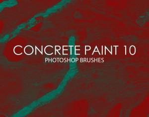 Free Concrete Paint Photoshop Brushes 10 Photoshop brush