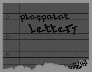 PingPoint Letters Brushes Photoshop brush