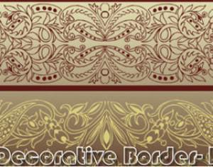 Decorative Border-I Photoshop brush