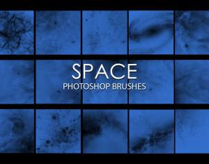 Free Space Photoshop Brushes Photoshop brush