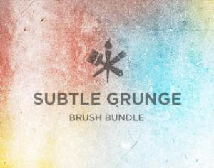 Subtle Grunge Photoshop brush