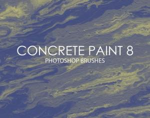 Free Concrete Paint Photoshop Brushes 8 Photoshop brush
