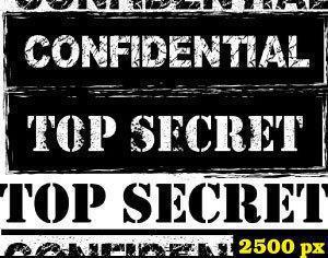 Confidential Stamp Photoshop Brushes Photoshop brush
