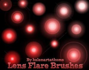 Lens Fare Brushes Photoshop brush