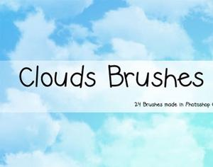 Cloud Brush Set Photoshop brush