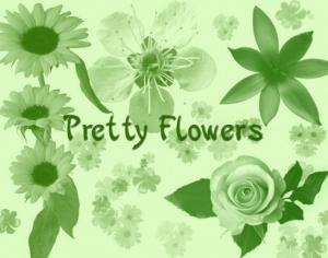 Pretty Flowers Photoshop brush