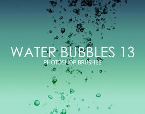 Free Water Bubbles Photoshop Brushes 13 Photoshop brush