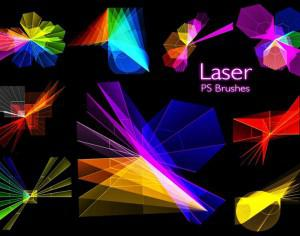 20 Laser PS Brushes abr. vol.9 Photoshop brush
