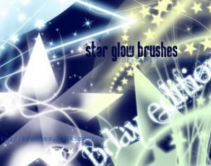 Star Glow Brushes Photoshop brush