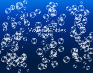 20 Water Bubbles PS Brushes abr.Vol.4 Photoshop brush