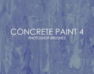 Free Concrete Paint Photoshop Brushes 4 Photoshop brush