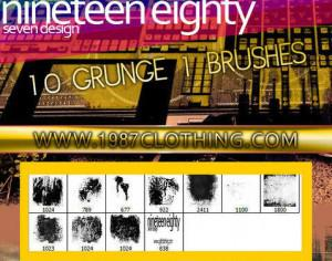Grunge Set 1 Photoshop brush