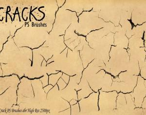 Cracks PS Brushes abr Photoshop brush