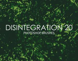 Free Disintegration Photoshop Brushes 20 Photoshop brush