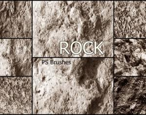 20 Rock Texture PS Brushes abr vol.17 Photoshop brush