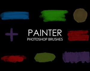 Free Painter Photoshop Brushes Photoshop brush