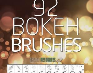 Bokeh PS Brushes Free Pack Photoshop brush
