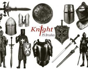 20 Knight PS Brushes abr.vol.4 Photoshop brush