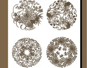 Asian Embellishment Photoshop brush