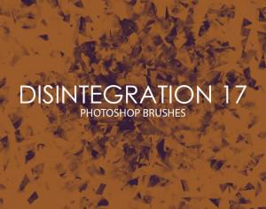 Free Disintegration Photoshop Brushes 17 Photoshop brush