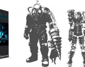 Bioshock Robot Brushes Photoshop brush