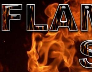 Flames Style Photoshop brush
