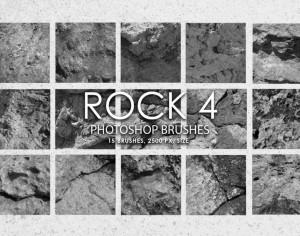 Free Rock Photoshop Brushes 4 Photoshop brush