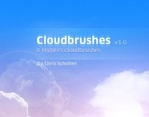 Cloudbrushes Photoshop brush