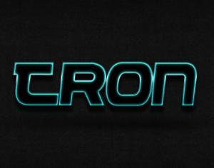 Tron Photoshop brush