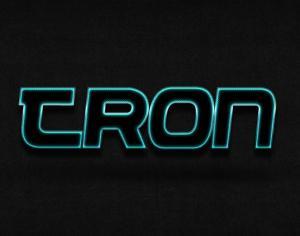 Tron Photoshop brush