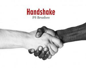 20 Handshake PS Brushes abr Photoshop brush