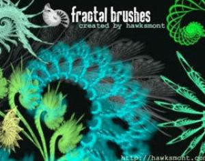 Fractals I by hawksmont Photoshop brush