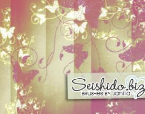FREE Seishido.biz Butterfly Brushes  Photoshop brush