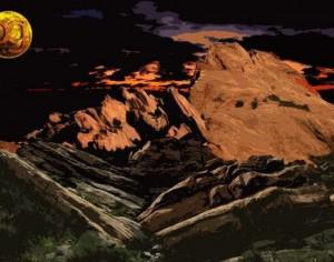 4 Vasquez Rocks Brushes Photoshop brush