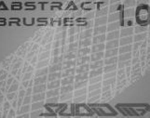 Abstract Bend Brush Set 1.0  - Studio M7 Photoshop brush