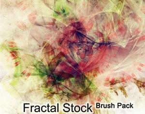 Fractal Stock Photoshop brush