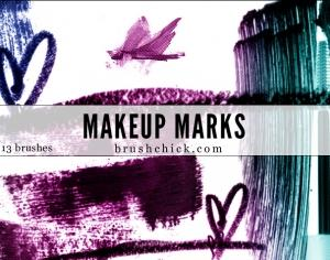 Makeup Marks Photoshop brush