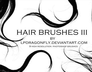 Hair Brushes 3 Photoshop brush