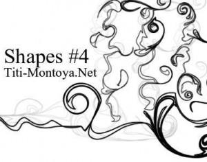 Shapes 4 Photoshop brush